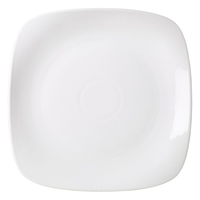 Rounded Square Plate 270mm Carton of 6