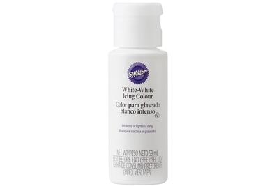 WILTON : ICING COLOUR - WHITE WHITE - 59ML