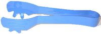 Serving Tongs M/Blue - 22.5cm