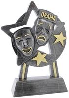 18cm Star Drama Award (Ant Silver & Gold)
