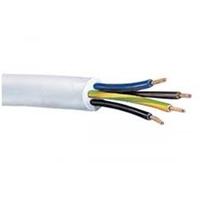 Cable 3094Y 4 Core Circular Heat Resisting Flexible PVC 1.5mmx10