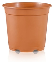 Teku MCL27 Container 5° Tall Injection Moulded 27cm - Terracotta