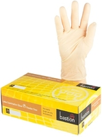 Latex Powder Free Gloves Pkt 100