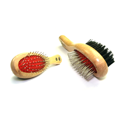 Brush Double Sided Wooden Handle