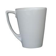 Royal Genware Porcelain Angled Latte Mug 35cl  12oz Ctn of 6