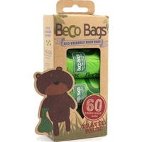 Beco Biodegradable Poop Bags - Travel Pack 60 Bags x 1