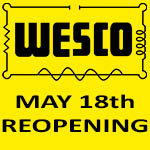 Trade Counters Reopen - May 18th