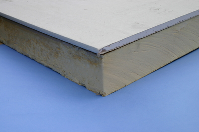 Insulated Plasterboard 93mm 8x4 ft)