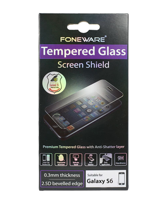 FoneWare Tempered Glass Galaxy S6 0.27 mm Thick