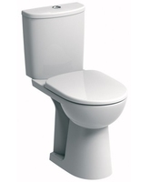 SONAS E100 ROUND COMFORT HEIGHT WC W368 X H845 D675 MM WITH CISTERN AND STANDARD SEAT