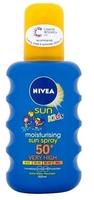 Nivea Sun Kids Coloured Spray SPF50 Plus 200ml