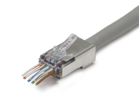 ezEX™44 Shielded, External Ground, CAT6  25pc
