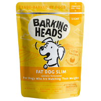Barking Heads Dog Pouch - Fat Dog Slim 300g x 10