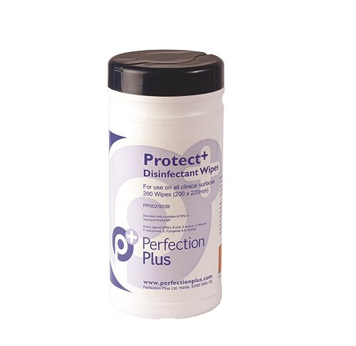Perfection Plus Protect+ Alcohol Wipes Tub of 200