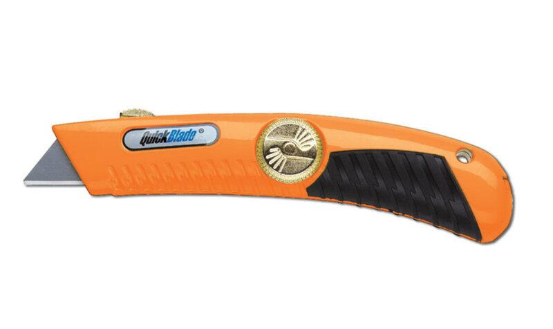 Quick Blade Spring Back Orange Knife