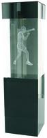 22cm Boxing Crystal Award