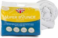 Dreamtime Super Bounce 13.5 Tog Duvet, Polyester, Single, White