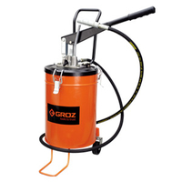 GROZ High Pressure Foot Operated Grease Pump (Ploughing Special Discount Price)