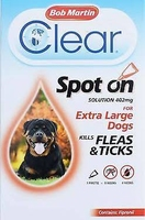 Bob Martin Flea-Clear Spot-On X-Large Dog Flea Drops 1 Tube x 1