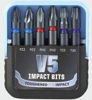 Mixed Bit V5 Impact Set 6 Piece