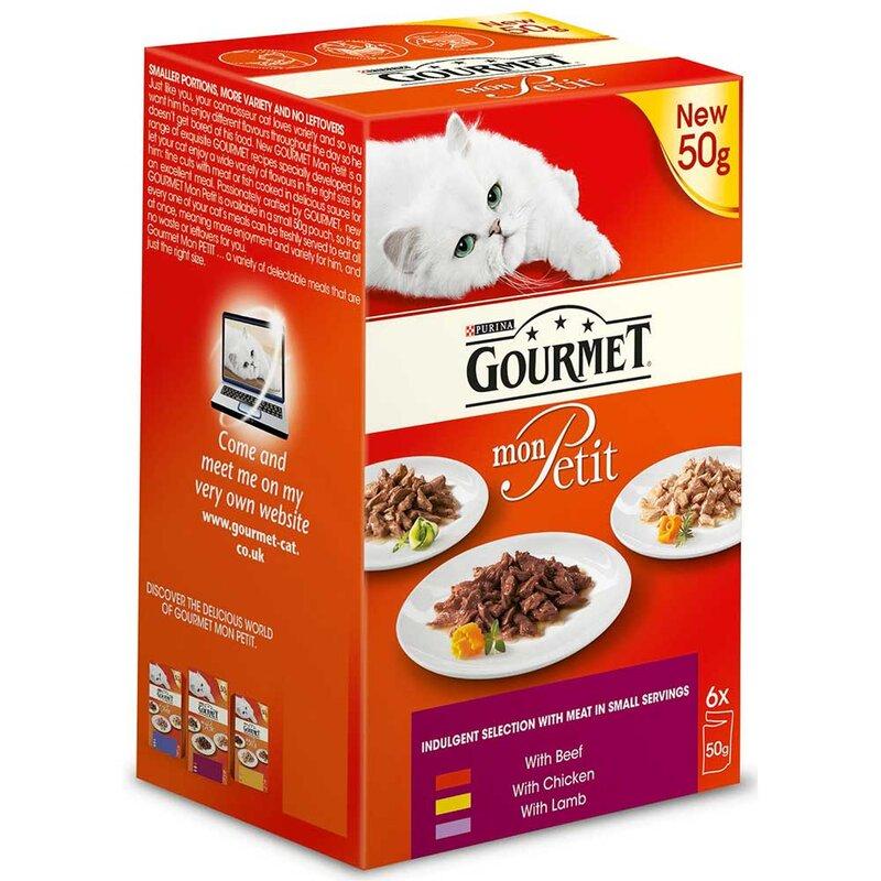 Gourmet Mon Petit Meat 8 x 6 x 50g
