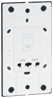 Arteor Shaver Socket (120-230v) -White  | LV0501.0009
