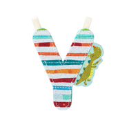 Lilliputiens Fabric Letter Y
