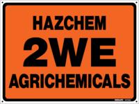 HAZCHEM 2WE Agrichemicals ( HAS013 )