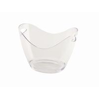 Champagne Bucket Clear Acrylic 27.2x20.4x19.4cm 3L
