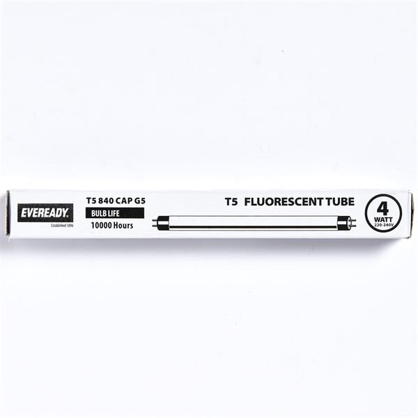 EVEREADY COOL WHITE (COL840) T5 4W FLOURESCENT TUBE