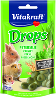 Vitakraft Small Animal Parsley Drops 75g x 9