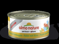 Almo Nature Legend Cat Cans - Chicken & Cheese 70g x 24