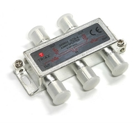 4 Way Splitter 5 - 2400 Mhz  :  Through Power