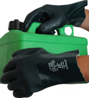 "PVC 11"" Open Wrist Double Dip Glove (V327)"