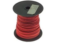 PREMIER 50 MTR 3 MM BRAIDED POLYPROPYLENE ROPE RED