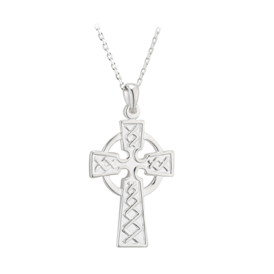 S/S CELTIC CROSS DOUBLE SIDED