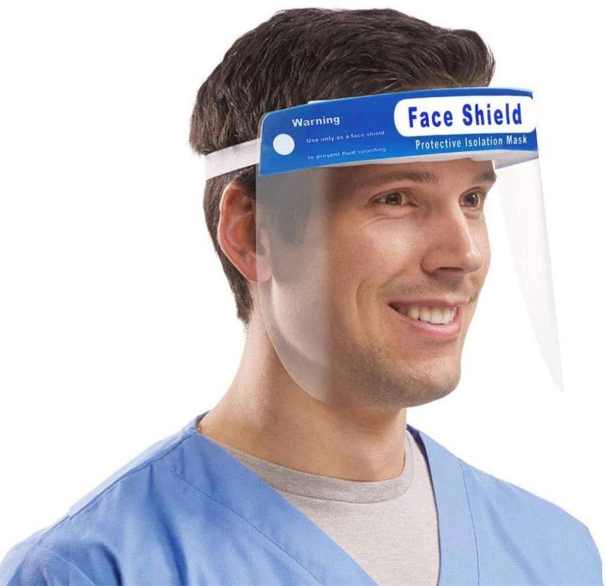 DMI Anti Fog Face Visor Pk6