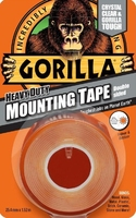 GORILLA DOUBLE SIDED MOUNTING TAPE CLR 1.5Mtr