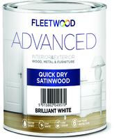 Fleetwood Advanced Satinwood 2.5Ltr