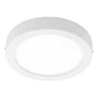 EGLO Fueva 1 LED White Round Ceiling Light LED 22w 3000k | LV1902.0066