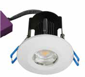 TRIUMPH ACTIVATE LEDCHROIC 8W LED d ownlight, IP65, 92mm, White, 4000K,