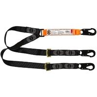 Double Leg Adjustable Lanyard, Snap Hooks