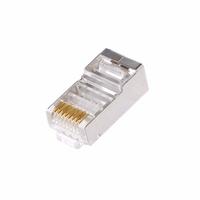 RJ45 8 Pin Crimp Plug Shielded