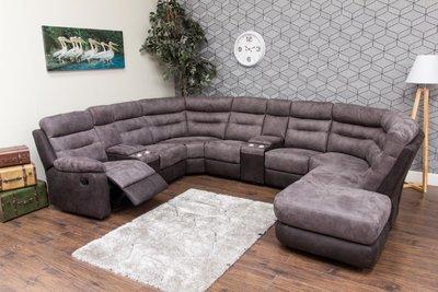 dillon fabric modular sofa charcoal 3