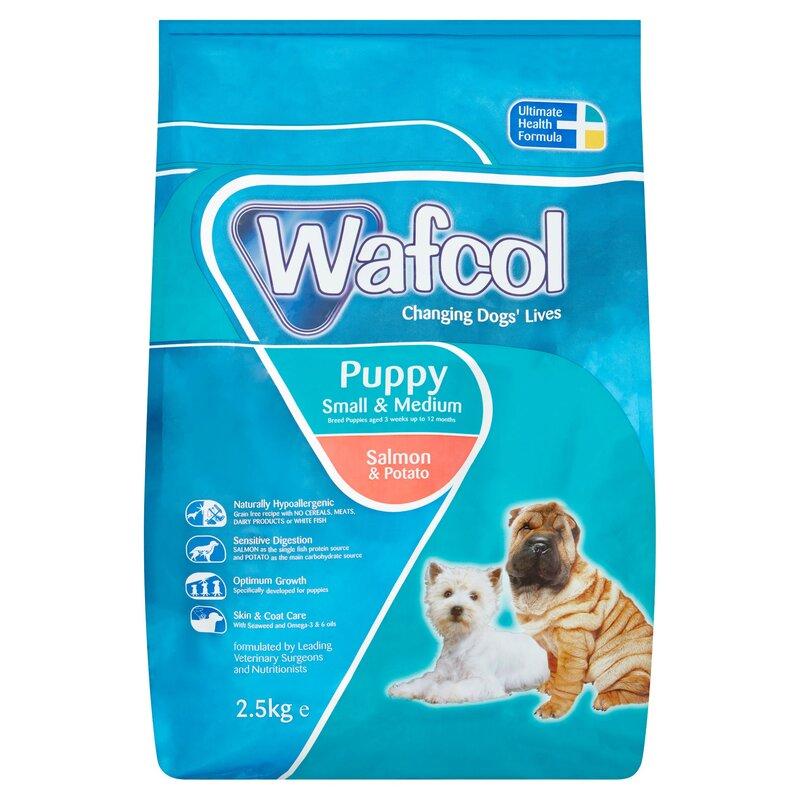 Wafcol Salmon & Potato Small & Medium Breed Puppy Food 2.5kg