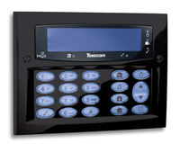 Texecom Premier Elite FMK Diamond Black Flush
