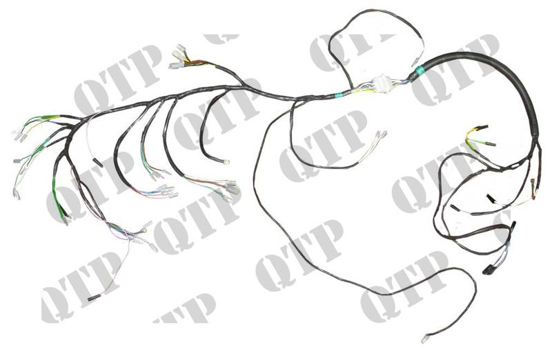 wiring loom david brown 770 780