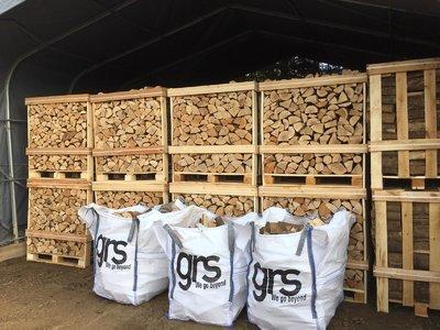 Kiln Dried Ash Firewood 1.173 M3 Crate