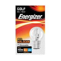 Eveready 28W(40W) Energy Saving G45 Halogen Golf BC