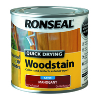 Quick Drying Woodstain 250ml Mahogany